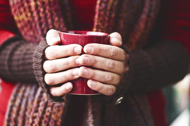 Chá para os dias frios