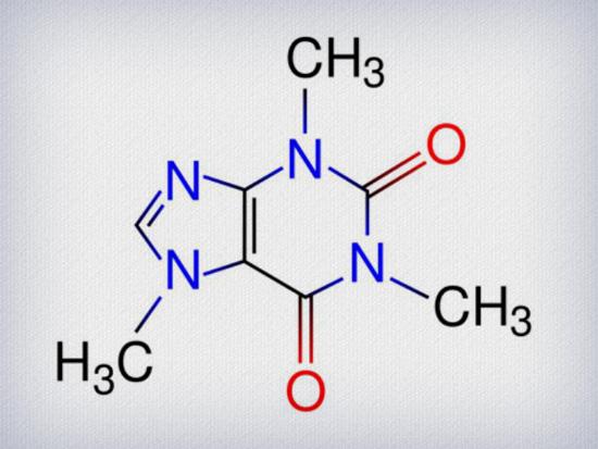 moleculaTRATADA   Alimentos com cafeína