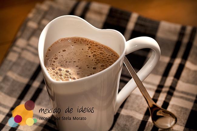 Cappuccino crocante de inverno