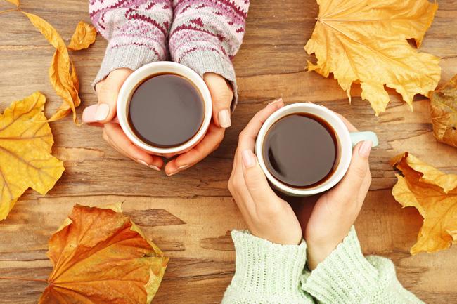 Outono e café: A combinação perfeita