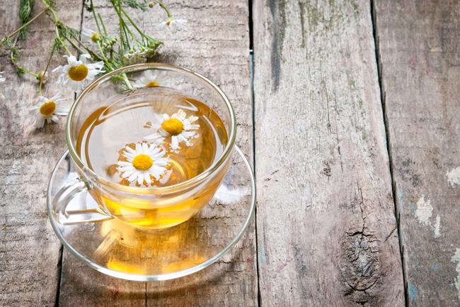 Chá de camomila para viver mais
