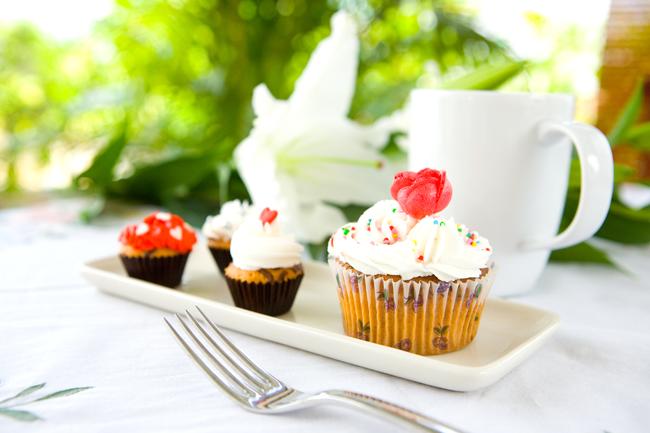 A história do cupcake