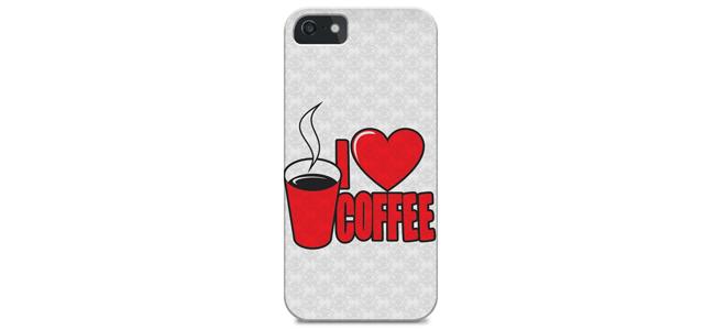 Cases de celular para apaixonados por café
