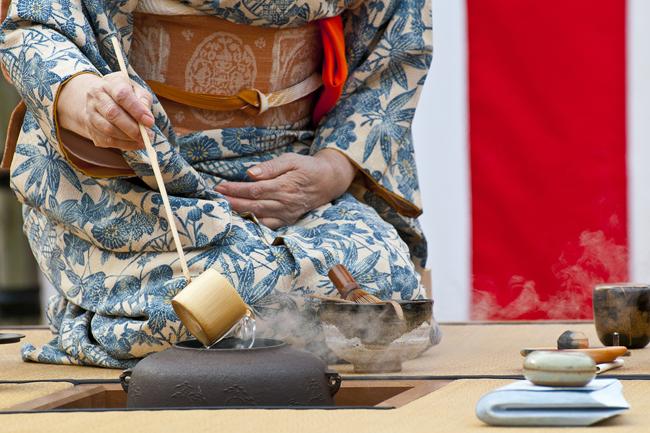 A cerimônia do chá na história do Japão