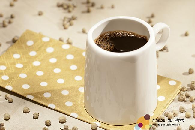 Café extra forte com pimenta verde