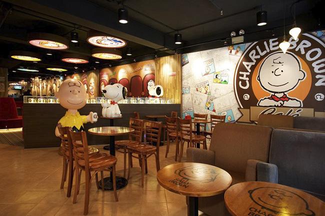Conheça a cafeteria inspirada em Charlie Brown e Snoopy