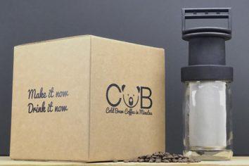 CUB: cold brew em poucos minutos