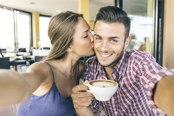 Celebre o Dia dos Namorados com muito café