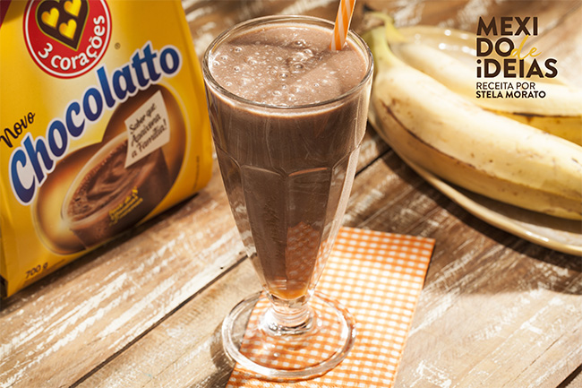 Shake de Chocolatto com banana