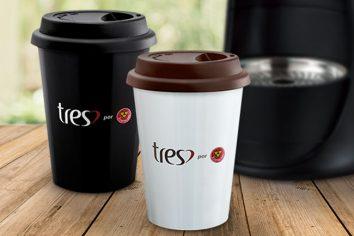 Presente para coffeelovers: Copo To Go TRES®