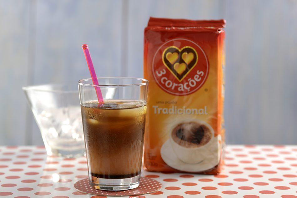 Drink de café e goiaba