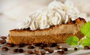 cheesecake cappuccino 300x185   Receitas com cappuccino