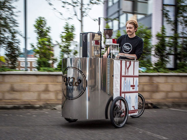 Coffee Bike cafeteria sobre rodas1   Coffee Bike – cafeteria sobre rodas
