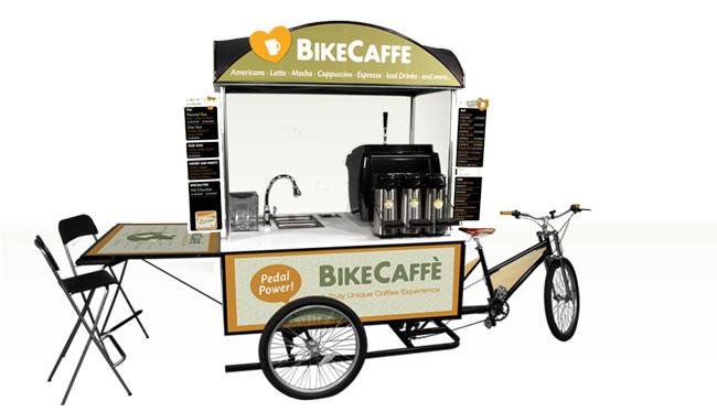 Coffee Bike cafeteria sobre rodas2   Coffee Bike – cafeteria sobre rodas
