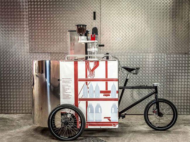 Coffee Bike cafeteria sobre rodas3   Coffee Bike – cafeteria sobre rodas