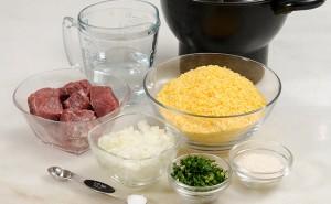 cuscuz de flocao com carne seca2 300x185   Cuscuz de Flocão com carne seca