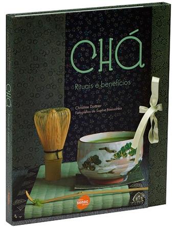 Livro Cha rituais e beneficios   Livro – Chá: rituais e benefícios