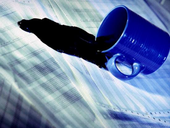 Tirar mancha de cafe   Como tirar manchas de café?