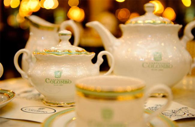 Resultado de imagem para Confeitaria Colombo chá