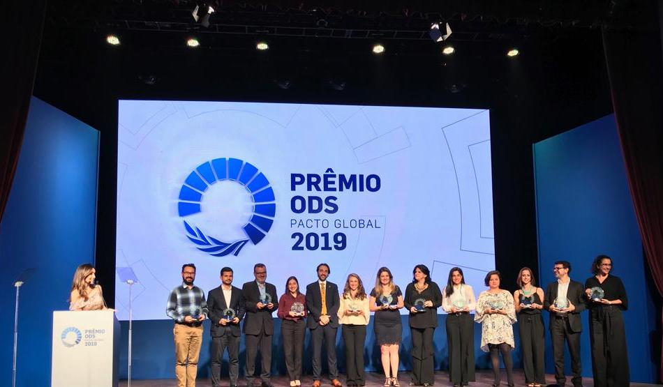 Grupo 3corações vence Prêmio ODS 2019 da Rede Brasil do Pacto Global